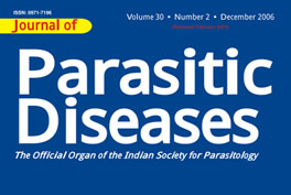 THE INDIAN SOCIETY FOR PARASITOLOGY